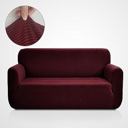 Beau RHF Jacquard Sofa Slipcover, Stretch Couch Covers For 3 Cushion Couch Couch  Covers