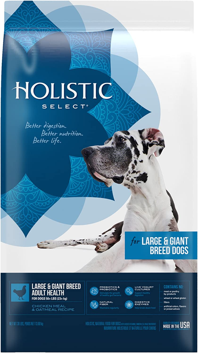 Holistic Select Natural Dry Dog Food Large & Giant Breed Adult