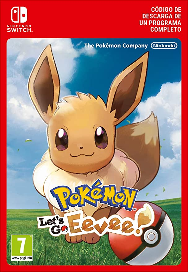 Pokémon: Lets Go, Eevee! | Nintendo Switch - Código de descarga ...