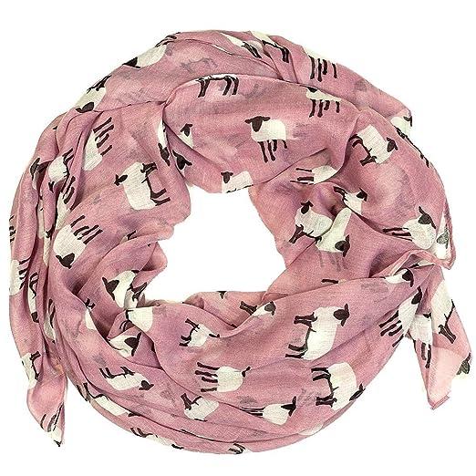 Mouton Décoration Écharpes pour Femmes Classique et Elégant Châle Foulard  (Vieux rose)  Amazon.fr  Informatique 2ff971148a9