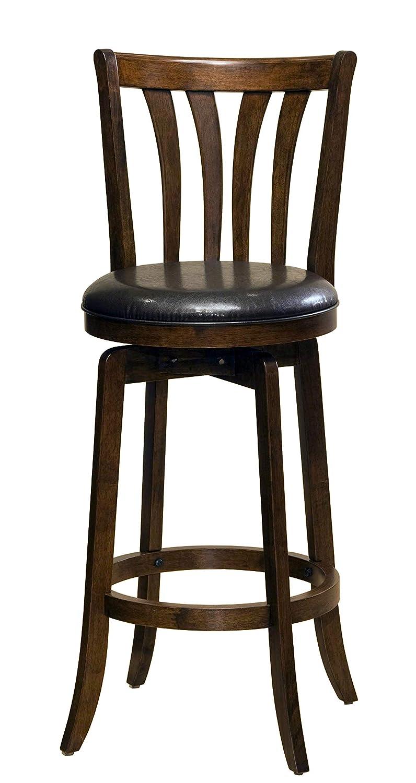 Awesome Hillsdale Savana Swivel Counter Stool Cherry Creativecarmelina Interior Chair Design Creativecarmelinacom