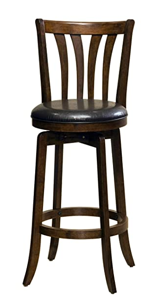 Super Hillsdale Savana Swivel Counter Stool Cherry Machost Co Dining Chair Design Ideas Machostcouk