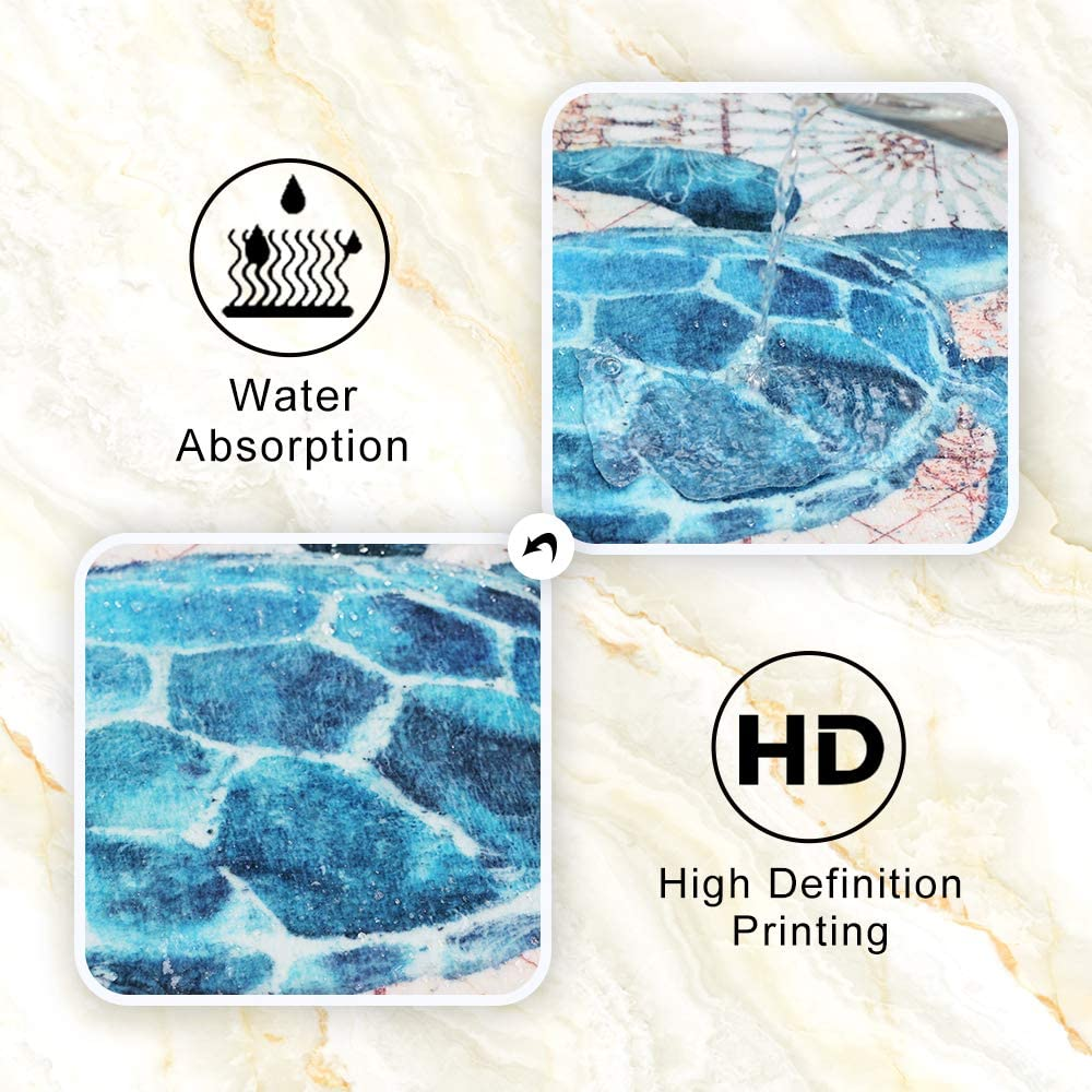 Wildlife Animals Lion and Leopard Tiger Cool Coral Velvet Bath Rugs Non Slip Shower Mat for Bathroom Decor Sets Door Rug with Rubber Backing Absorbent Kitchen Floor Carpet 17 x 24 inches