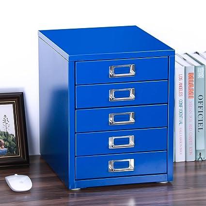 Z PLINRISE Office File Cabinets 5 Drawer   Size: 13.8u0026quot; X 13.8u0026quot;