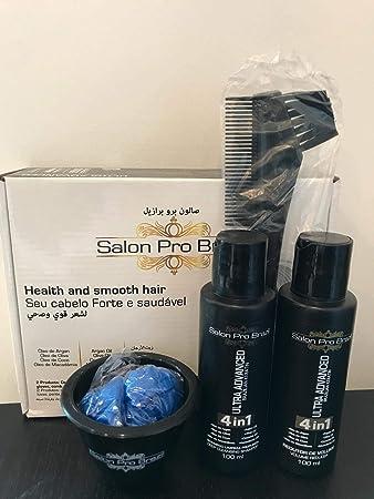Amazon.com: Brazilian Ultra Advanced Hair Straightening Treatment 2 x 100ML Personal Kit: Beauty