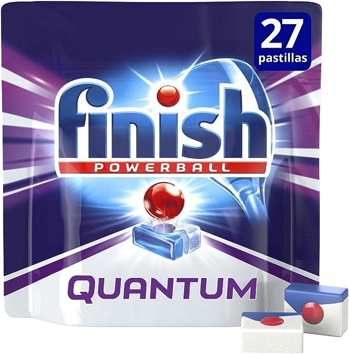 Finish Quantum Regular Pastillas para Lavavajillas - 18 + 9 ...