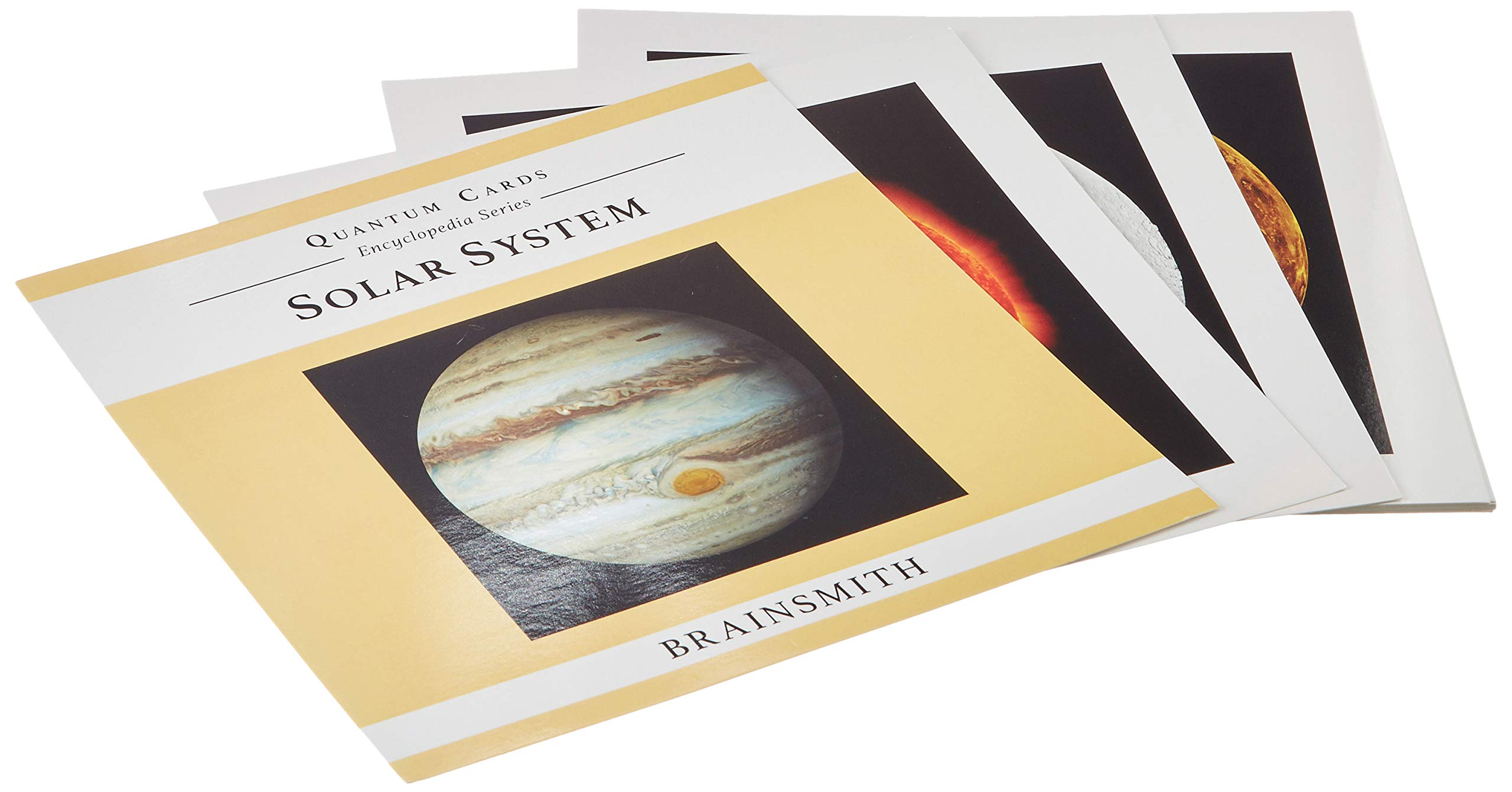 Brainsmith Quantum Cards - Solar System- Encyclopaedic Flashcards - Early Learning - Sensory Development - Birthday Gift (For children from 8 months and above - Brain Development)