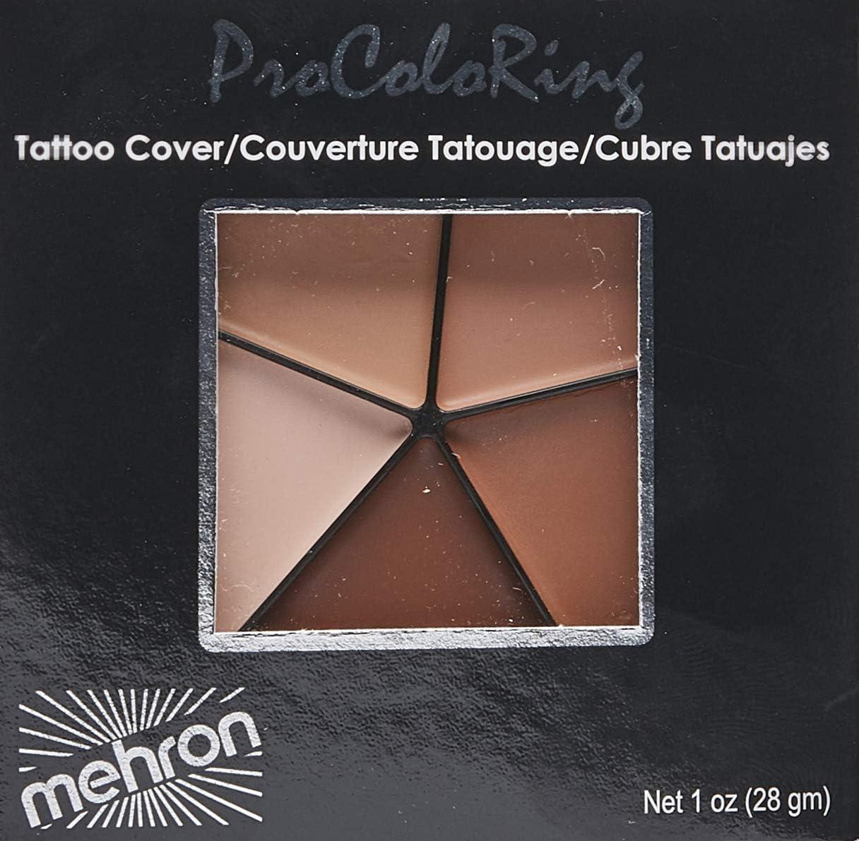 Mehron M505T Tattoo Cover: Amazon.es: Electrónica