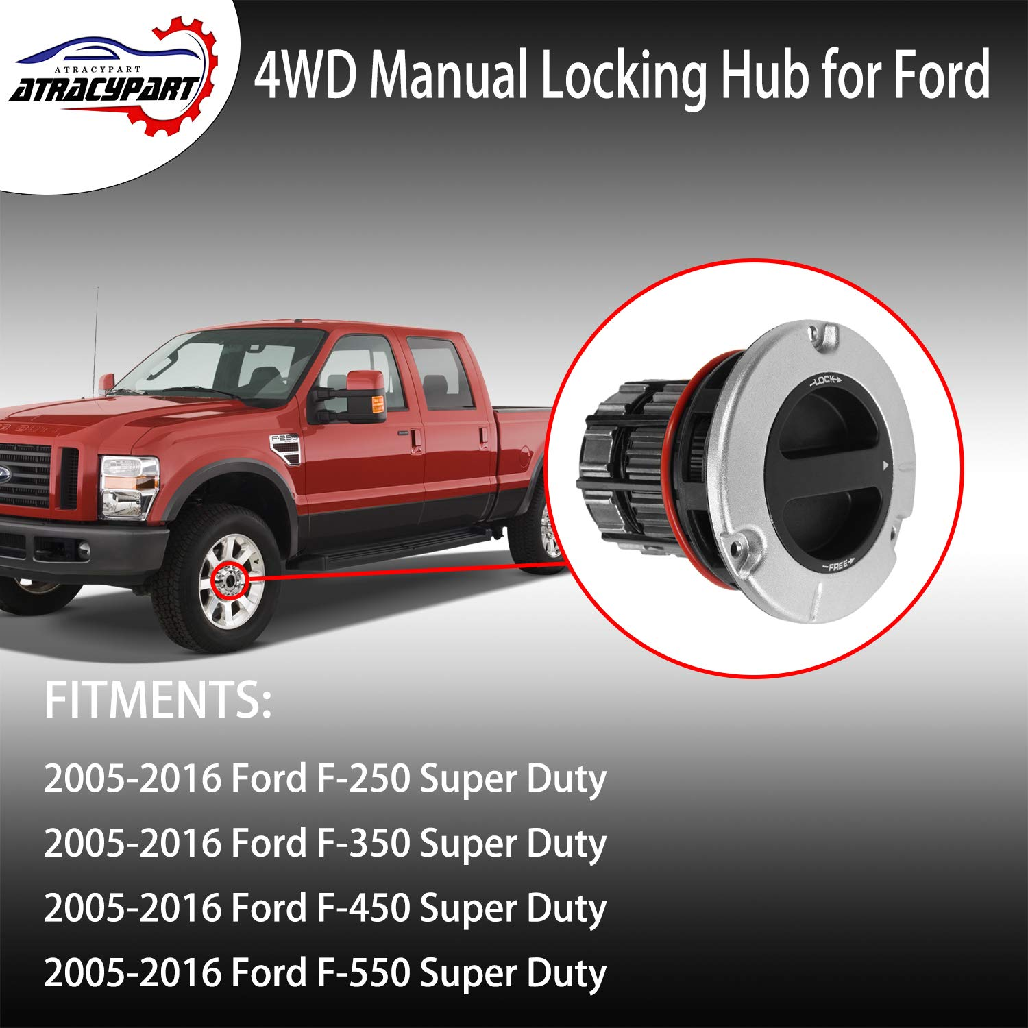Replacement Parts for 2005-2016 Ford F250 F350 F450 F550 Super ...