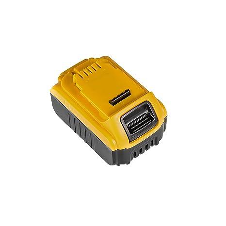 DeWalt DCB141 DeWalt DCB 141 Li-Ion Batterie pour DeWalt 6Ah