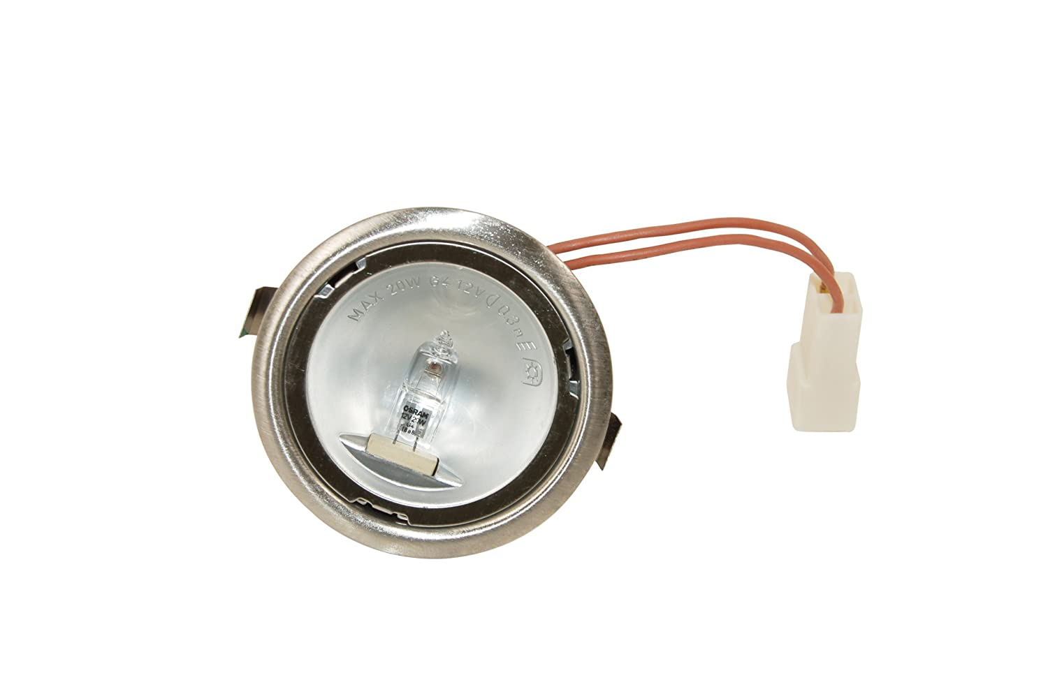 Hygena Cooker Hood Halogen Assembly. Genuine Part Number 12802300793