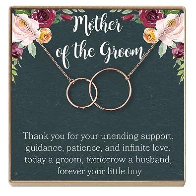 Amazon Mother Of The Groom Gift Necklace Wedding Gift Bridal