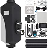 Happybuy 5KW Diesel Air Heater 10L Tank Diesel Heater 12V Diesel Parking Heater Muffler with LCD Thermostat and Remote Contro