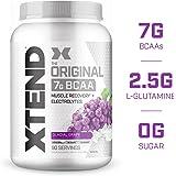 Scivation Xtend BCAA Powder, Grape, 90 Servings