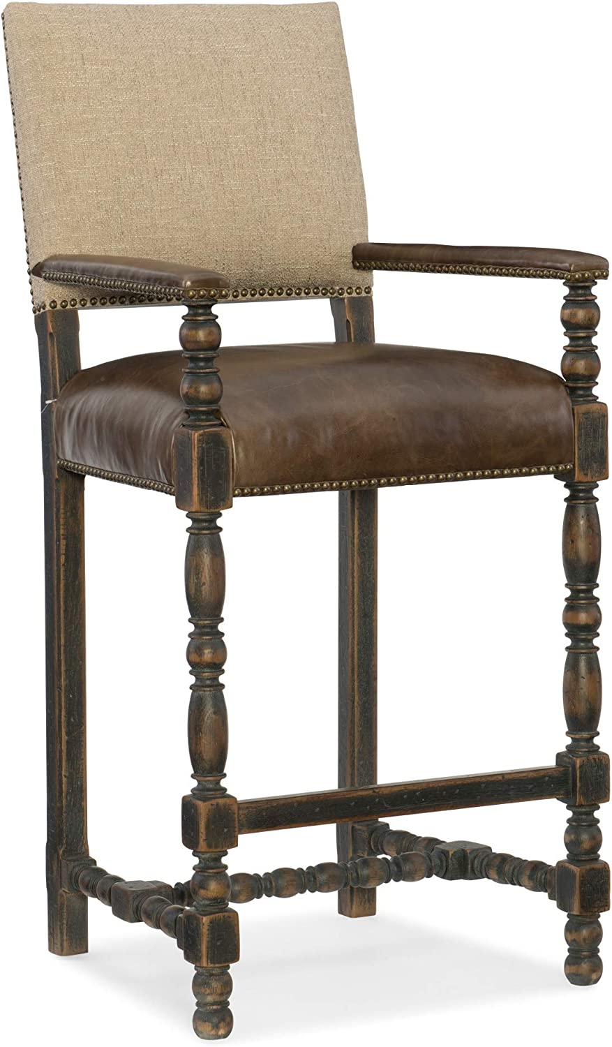 "Hooker Furniture Hill Country 31"" Comfort Barstool"