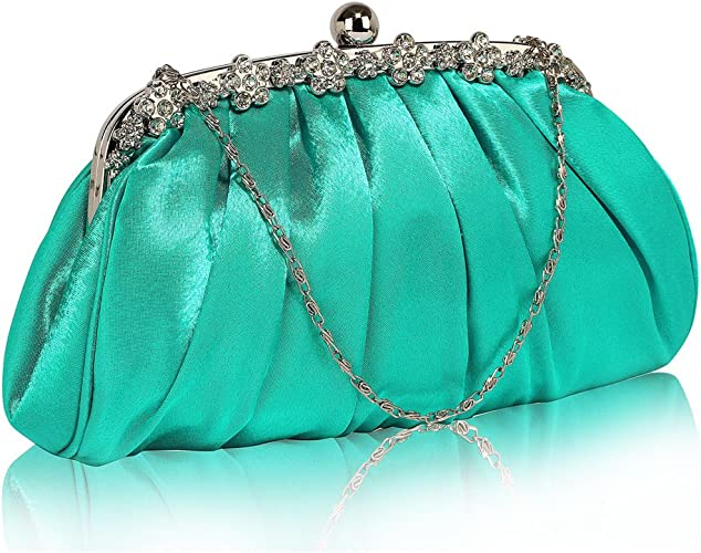 Women Evening Clutches Wedding Purses Prom Party Bridal Ladies Embroidery Clutch Bag