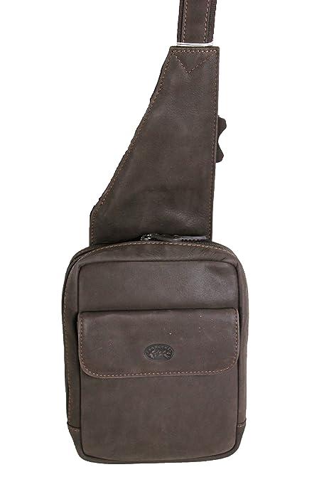 Francinel sac monobretelle holster en cuir réf 655039 + CADEAU SURPRISE  (marron) 179b8530208