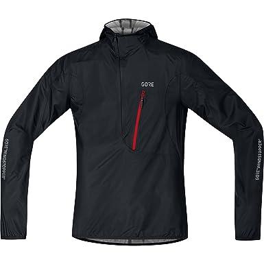 Gore Wear, Hombre, Chaqueta Cortavientos con Capucha de Ciclismo, Gore C7 Windstopper Hooded Rescue Jacket, 100224