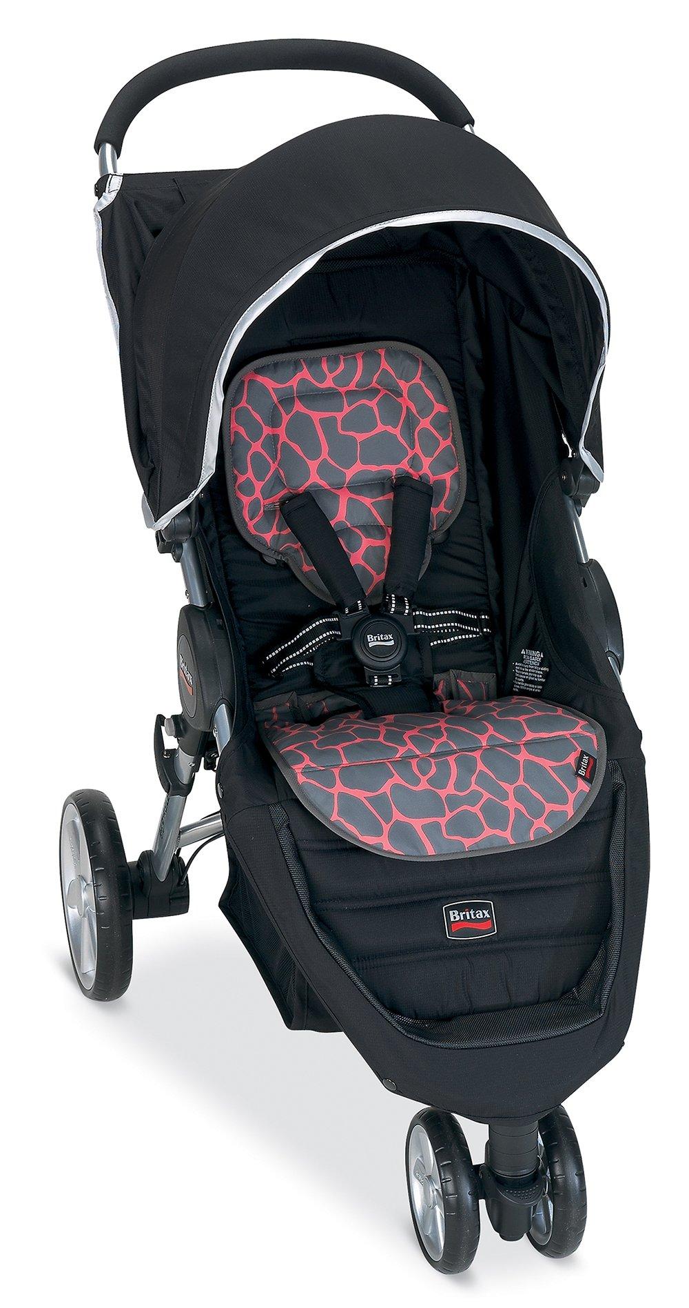 Britax B-Agile Fashion Stroller Kit, Pink Giraffe by Britax USA (Image #2)