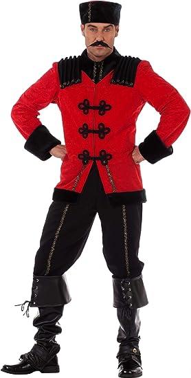 Stekarneval - Disfraz de ruso adultos, talla 58 (577758): Amazon ...