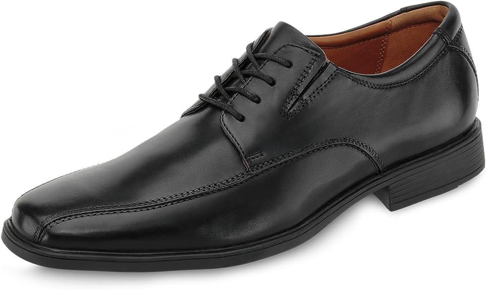 TALLA 42 EU. Clarks Tilden Walk, Zapatos de Cordones Derby