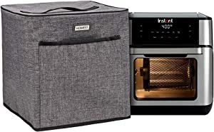 HOMEST Air Fryer Dust Cover Compatible with Instant Vortex Air Fryer 10 Quart, Grey