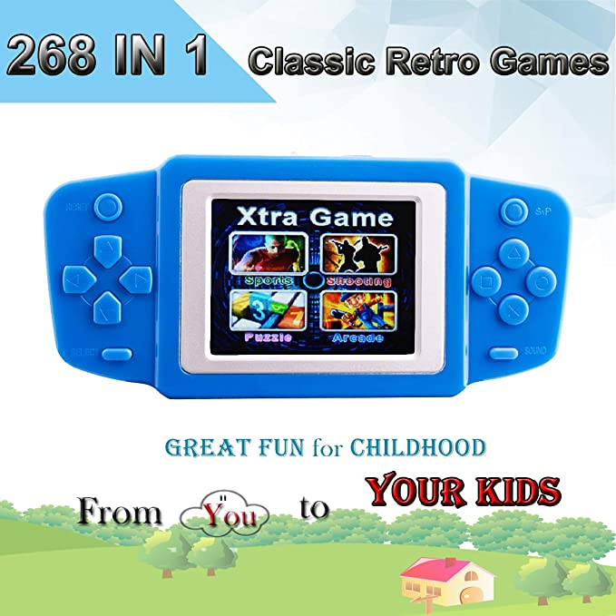 Amazon.es: Retro Consolas de Juegos de Mano Portátil Handheld Game Console 2.5