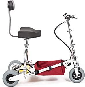 TravelScoot (35 lbs) World's Lightest Folding Electric Mobility Scooter for Adults