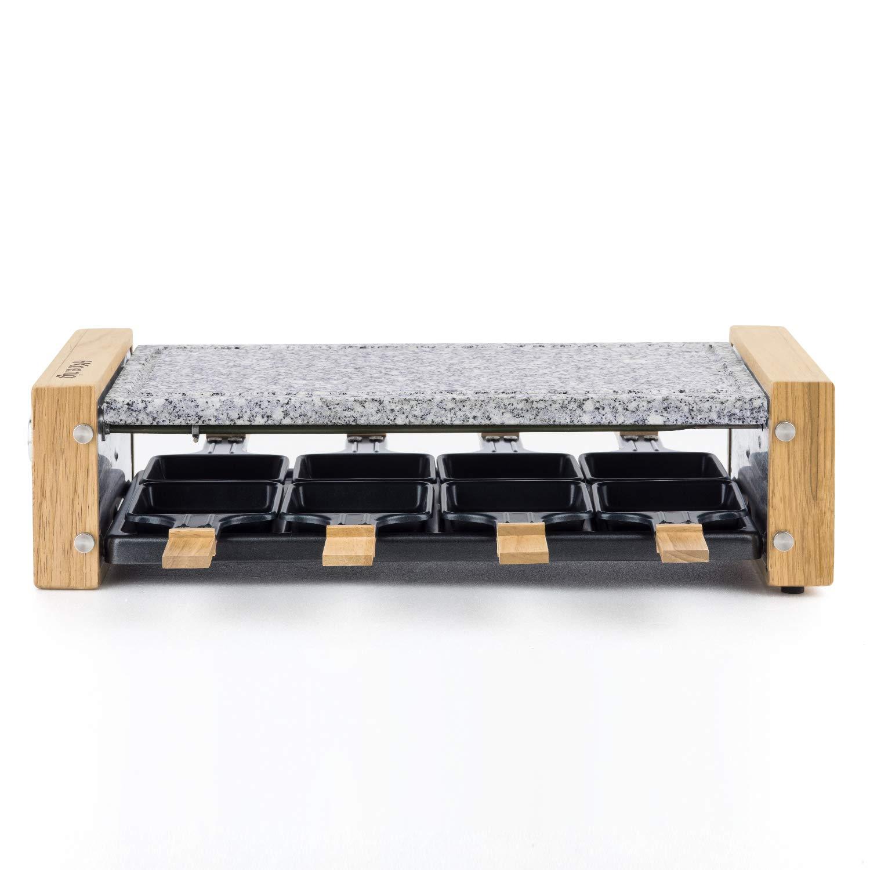 H.KOENIG WOD8 Raclette-Ger/ät 8 Personen Holz