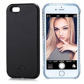 2ee4ea982af tophappy Funda con luz para Selfies, Funda de teléfono para Selfies y  facetime: Amazon.es: Electrónica