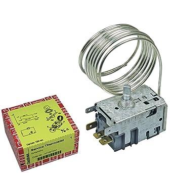 Universal Termostato 077b7001 Danfoss nº 1 con accesorios Frigorífico