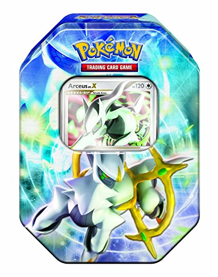 Pokemon Trading Card Game: Arceus Collectors Tin