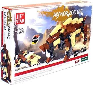 Jie Star 28020-12 Armor Zodiac Pig Construction Toy