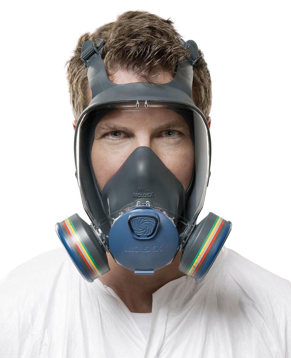 Moldex 9002 Ultra Light Comfort Series 9000 Medium Size Full Face Mask