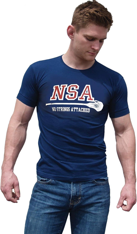 Ajaxx63 Men's AF NSA-No Strings Attached T-Shirt