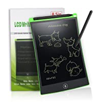 LCD Writing Tablet Digital Ewriter - NEWYES NYWT850-8.5 Inch Graphics Tablet Portable White Board Rugged Drawing Tablet Suitable for Home School Office Memo Notebook, 1 Year Warranty (green)