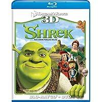 Shrek 3D/DVD Combo [Blu-ray] (Bilingual)