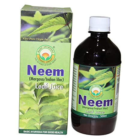 Basic Ayurveda Neem Leaf Margosa Juice - 500Ml