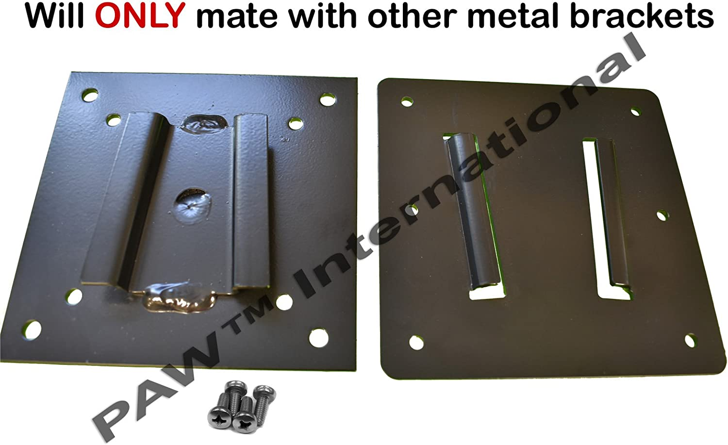 BLACK by PAW™ International TV Wall Mount for Campers and RV/'s,
