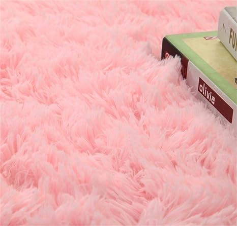 Linyingdian 120 Cm 4 Feet Tapis Rond Super Doux Salon Chambre A