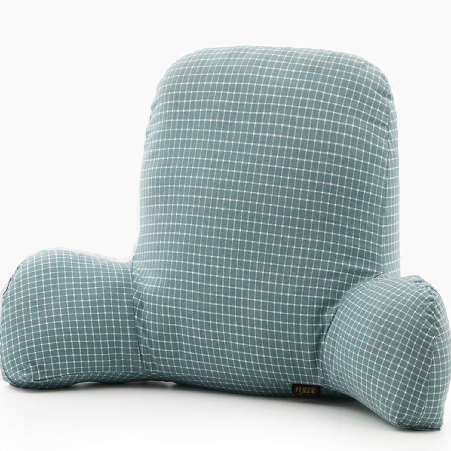 Wwang Cotton Reading Pillow - Best Bed Pillow with Arm Reading Bed - Perfect for teens, and kids