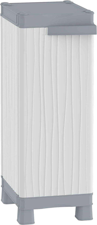Terry - Armario plástico exterior, 35 x 43.8 x 97.6 cm
