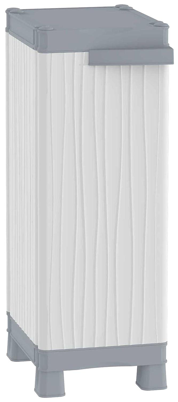 TERRY Base 350 UW Armadio Basso a Colonna in Plastica, Grigio, 35 x 43.8 x 97.6 cm Terry Store-Age 1002570