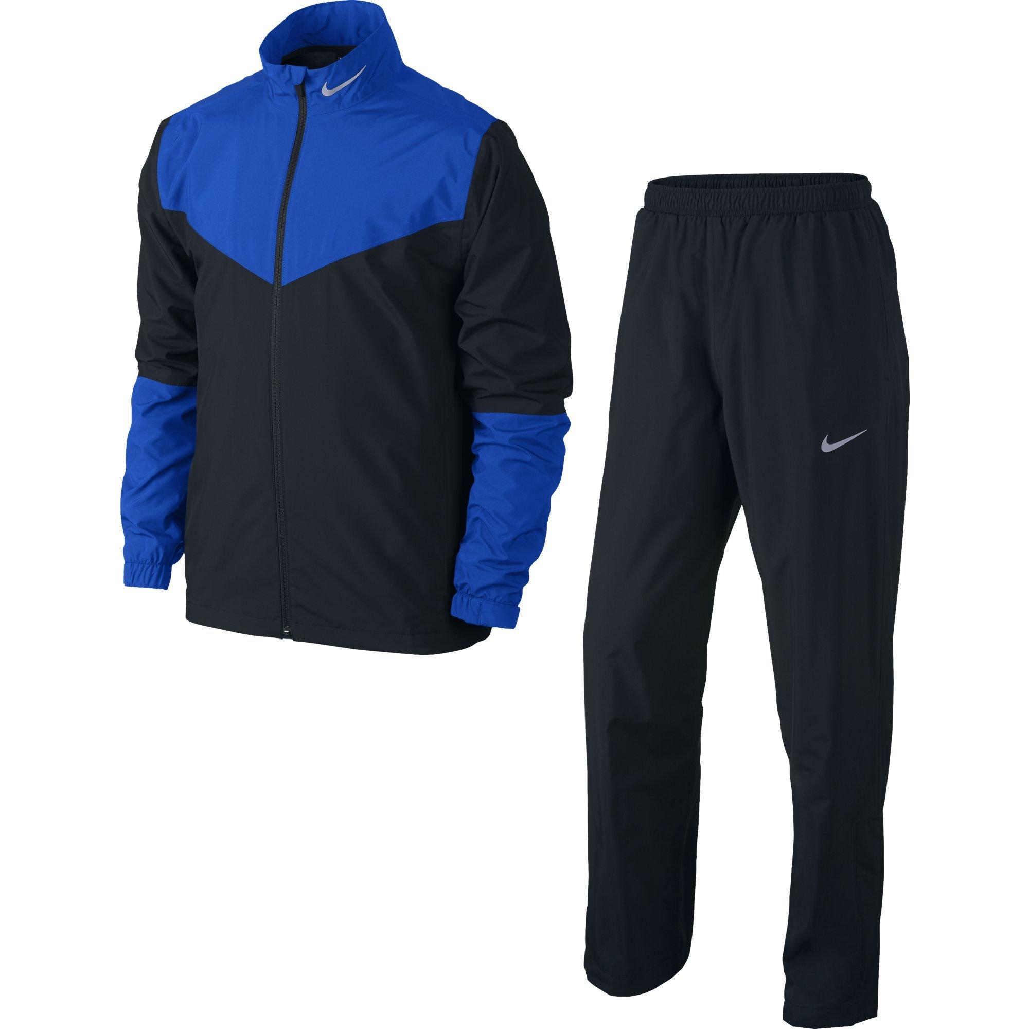Nike Golf Storm-FIT Rainsuit (Black/Hyper Cobalt/Reflective Silver, X-Large) by Nike (Image #1)