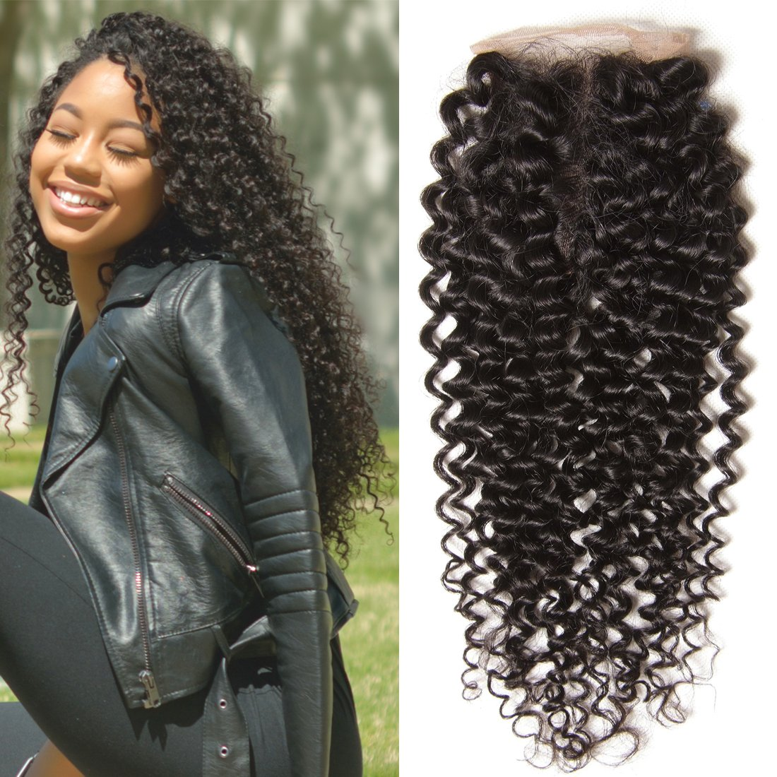 Amazon Brazilian Curly Virgin Hair Weave 3 Bundles Unprocessed