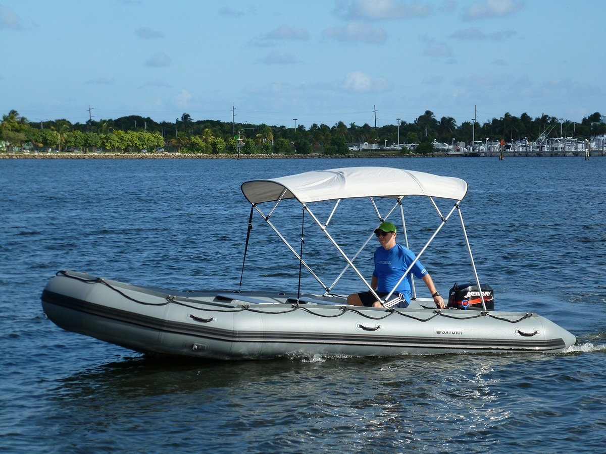 Saturn 4-Bow Bimini Top Sun Shade for Inflatable Boats Jon Boats and Fiberglass Boats. Amazon.ca Sports u0026 Outdoors & Saturn 4-Bow Bimini Top Sun Shade for Inflatable Boats Jon Boats ...