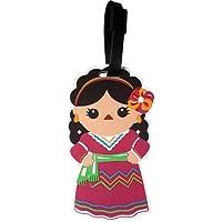 By Mexico Identificador de Maletas Modelo Traje típico de Jalisco