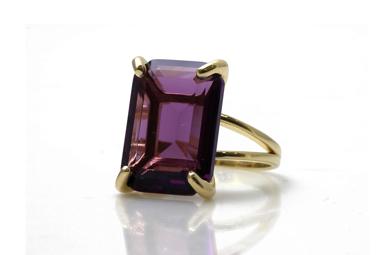 14k Purple Gem Ring