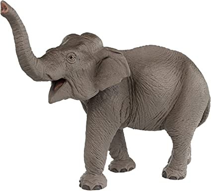 Realistic Elephant Animal Model Wild Life Role Play Figure Figurine Kids Toy