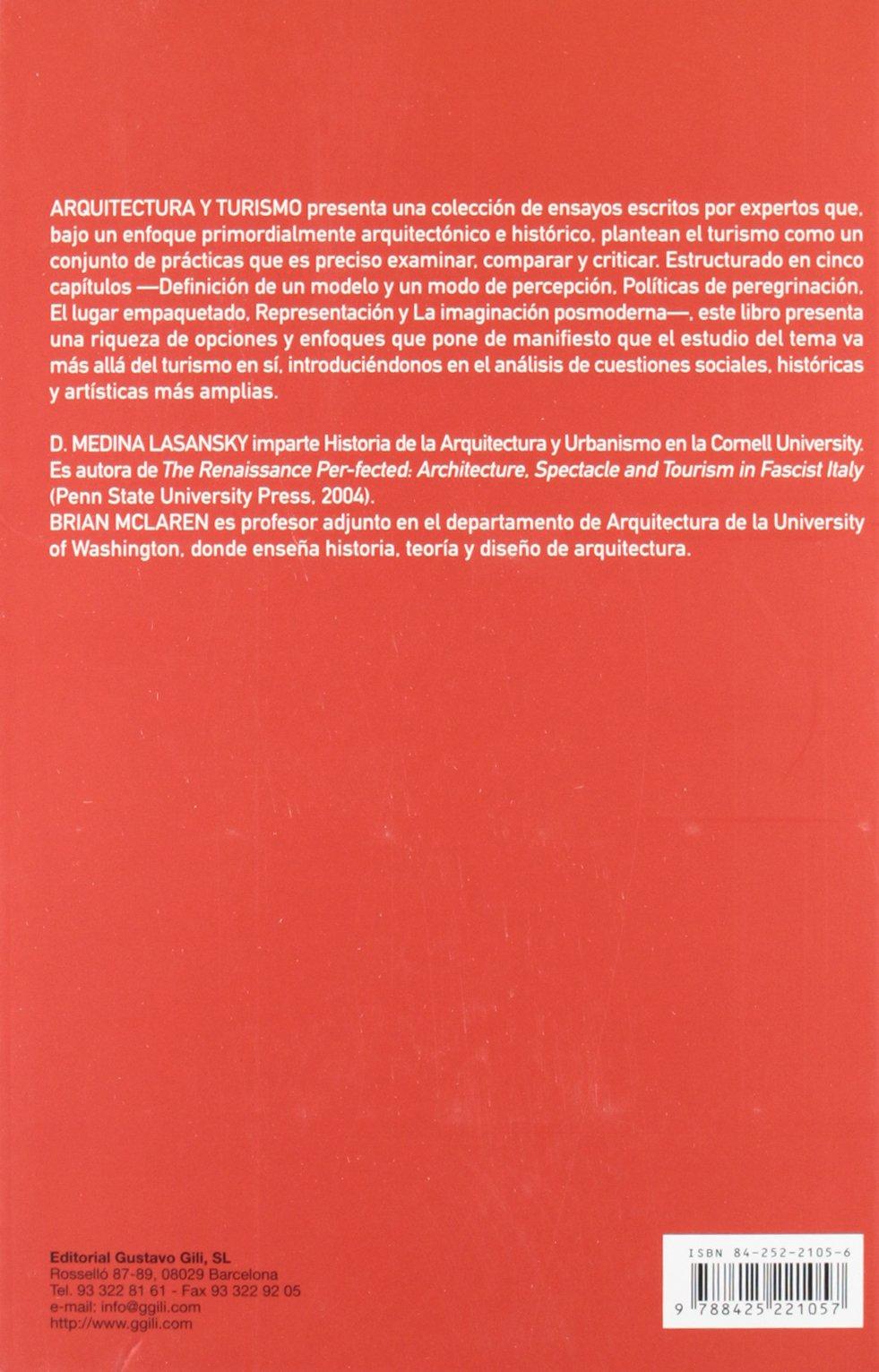 Arquitectura y turismo: Percepción, representación y lugar ...